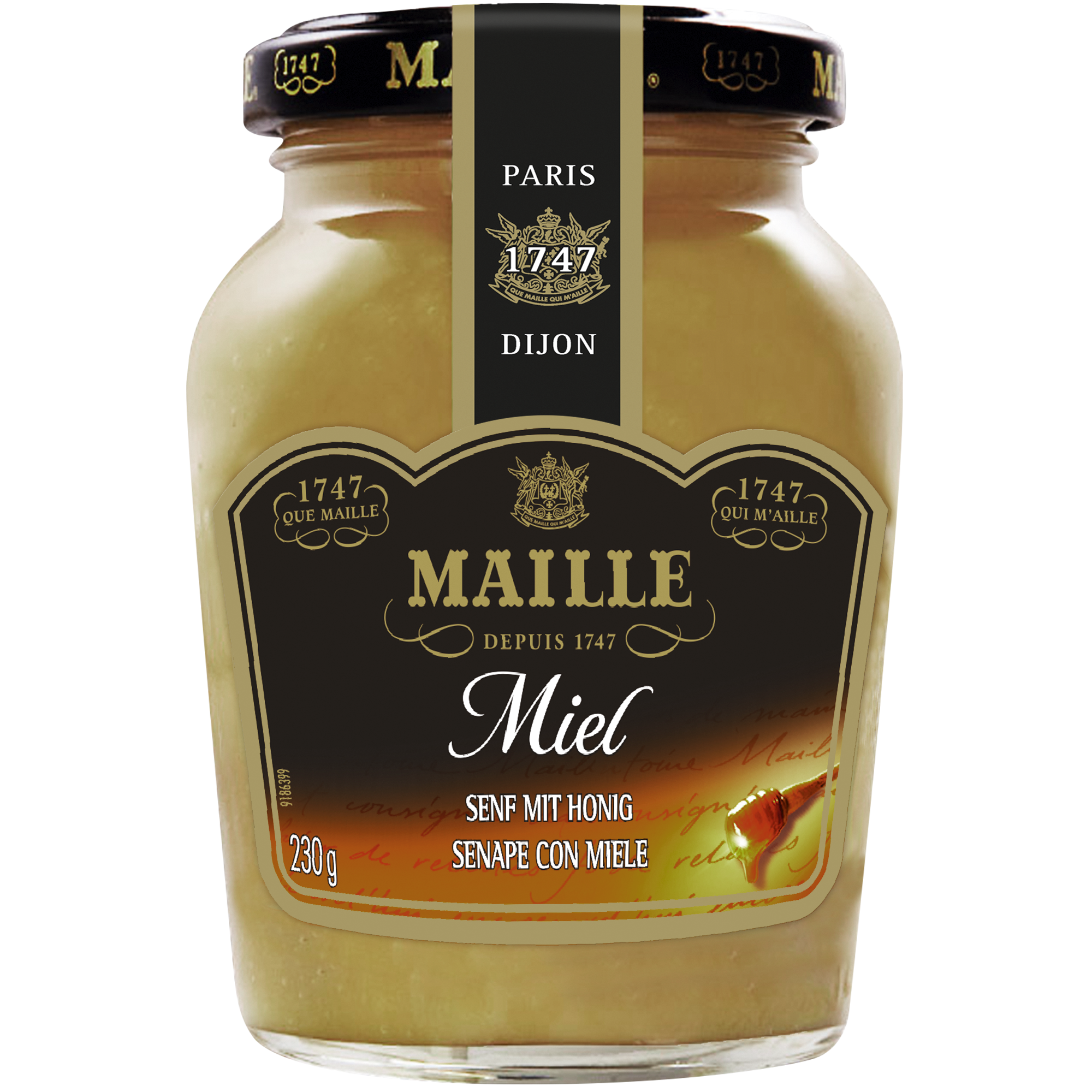 Moutarde Au Miel De 200ml